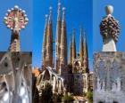 Templo Expiatório da Sagrada Família - Sagrada Família - Barcelona, Espanha.