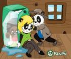 Max e Ella tenta colocar no congelador para Jay-Pea