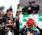 Mark Webber - Red Bull - Interlagos, Grand Prix Brasil 2010 (2 º Classificado)