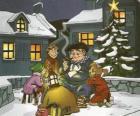 Olentzero é um personagem que traz presentes no dia de Natal, no País Basco e Navarra
