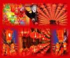 O Festival das Lanternas é o fim das celebrações do Ano Novo Chinês. Bonitas lanternas de papel