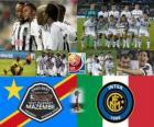 Copa do Mundo de Clubes da Final de 2010 - TP Mazembe Englebert vs Internazionale Milano FC -
