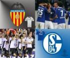 Liga dos Campeões - UEFA Champions League oitava final de 2010-11, Valencia CF - FC Schalke 04