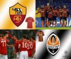 Liga dos Campeões - UEFA Champions League oitava final de 2010-11, AS Roma - Shakhtar Donetsk