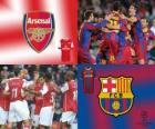 Liga dos Campeões - UEFA Champions League oitava final de 2010-11, Arsenal FC - FC Barcelona