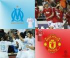 Liga dos Campeões - UEFA Champions League oitava final de 2010-11, Olympique de Marseille - Manchester United