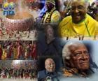 Prêmio Presidencial da Fifa em 2010, pelo Arcebispo Desmond Tutu