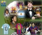 Lionel Messi Bola de Ouro da FIFA 2010