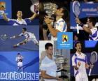 Campeão do Aberto da Austrália, Novak Djokovic 2011