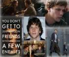 Jesse Eisenberg nomeado para o Oscar 2011 como melhor ator por A Rede Social
