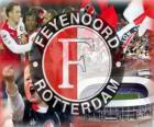 equipa de futebol do Feyenoord Rotterdam da Holanda
