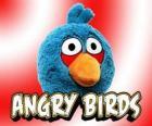 Blue Bird (Pássaro Azul), passarinho que é dividido em três em voo