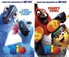 cartazes de cinema do Rio, com alguns personagens (1)