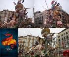 - O caçador caçado - vencedor das Fallas de 2011. O festival Fallas é comemorado 15-19 de Março, em Valência, Espanha.