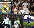 Liga dos Campeões - UEFA Champions League Bairro-de-final em 2010-11, o Real Madrid CF - Tottenham Hotspur FC