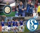 Liga dos Campeões - UEFA Champions League Bairro-de-final em 2010-11, o FC Internazionale Milano - FC Schalke 04