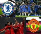 Liga dos Campeões - UEFA Champions League Bairro-de-final em 2010-11, o Chelsea FC - Manchester United
