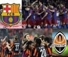 Liga dos Campeões - UEFA Champions League Bairro-de-final em 2010-11, o FC Barcelona - Shakhtar Donetsk