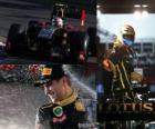 Vitaly Petrov - Renault - Melbourne, Grande Prémio da Austrália (2011) (3 º lugar)