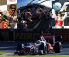 Lewis Hamilton - McLaren - Melbourne, Grande Prémio da Austrália (2011) (segundo lugar)