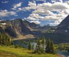 Belas paisagens de montanha