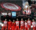 Olympiacos FC, campeão da Liga Grega 2010-11