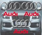 Logo da Audi, a marca alemã de carros