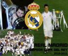 Real Madrid campeão da Copa del Rey 2010-2011