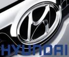 Logo da Hyundai, marca de automóveis da Coréia do Sul