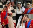 O Casamento Real entre o príncipe William e Kate Middleton, uma vez casados