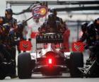 Mark Webber - Red Bull - Xangai de 2011