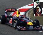 Mark Webber - Red Bull - Xangai, na China Grand Prix (2011) (3 º lugar)