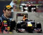 Mark Webber - Red Bull - Istambul, Turquia, Grand Prix (2011) (segundo lugar)