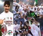 AC Milan, campeão da Liga Italiana de Futebol - Lega Calcio 2010-11