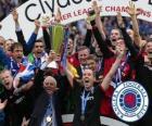 Rangers FC, Glasgow Rangers, campeão da Liga Escocesa de Futebol 2010-2011