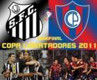 Santos FC - Cerro Porteño. Semifinal da Copa Libertadores 2011