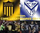 Peñarol Montevideo - Velez Sársfield - Peñarol Montevideo. Semifinal da Copa Libertadores 2011