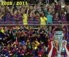 FC Barcelona, campeão da Liga dos Campeões da UEFA 2010-2011