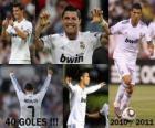 Cristiano Ronaldo, maior artilheiro da história da liga espanhola, 2010 - 2011