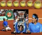 Rafael Nadal, campeão de Roland Garros 2011