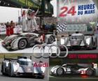 Campeões das 24 Horas de Le Mans, Audi R18 TDI 2011