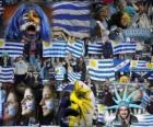 Fãs do Uruguai, Argentina 2011
