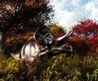 Zuniceratops foi cerca de 3 a 3,5 metros de comprimento e 1 metro de altura.