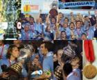 Uruguai, campeão da Copa América 2011