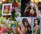 Amy Winehouse foi um Inglês cantor e compositor, conhecido por sua mistura de vários gêneros