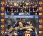 FC Barcelona campeão da UEFA Super Cup 2011