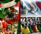 Dia da Independência do México. Comemora o 16 de setembro de 1810, o início da luta contra o domínio espanhol