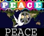 Dia Internacional da Paz. Dia Mundial da Paz. 21 de setembro é dedicado à paz e à ausência de guerra