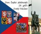 Dia Nacional Checa. 28 de setembro de São Venceslau, padroeiro da República Checa