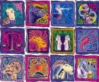 Os doze signos do zodíaco